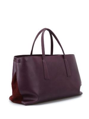 ZANELLATO: shopper online - Duo L-Original Silk pelle e nabuk