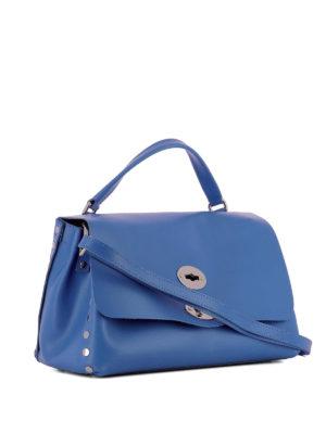 ZANELLATO: shopper online - Postina S Original Silk azzurra