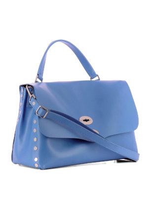 ZANELLATO: shopper online - Postina M Original Silk bluette