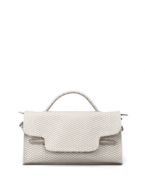 Zanellato: shoulder bags - Nina S-Blandine coated canvas bag