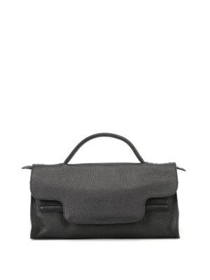 Zanellato: shoulder bags - Nina S Cachemire Pura black tote