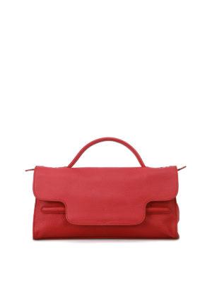 Zanellato: shoulder bags - Nina S Cachemire Pura red tote