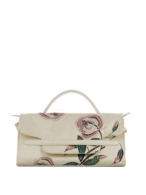 Zanellato: shoulder bags - Nina S printed silk leather bag