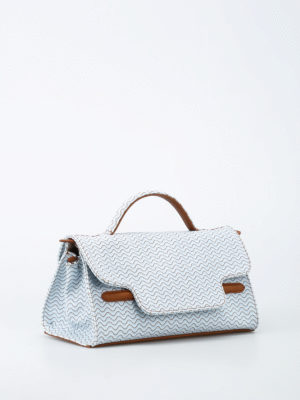 Zanellato: shoulder bags online - Nina S-Blandine coated canvas bag