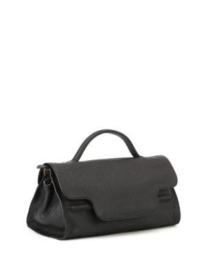 Zanellato: shoulder bags online - Nina S Cachemire Pura black tote