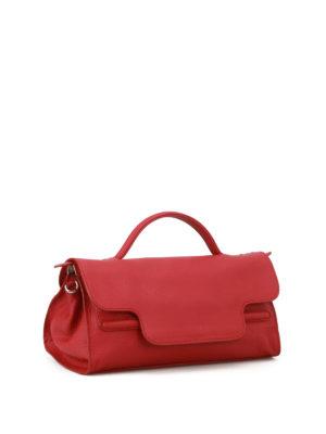 Zanellato: shoulder bags online - Nina S Cachemire Pura red tote