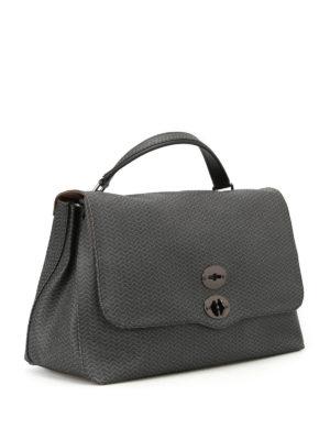 Zanellato: shoulder bags online - Postina L Dollarone vulcano bag