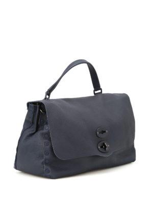 Zanellato: shoulder bags online - Postina M+ Cachemire Pura adriatico
