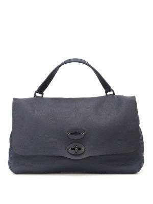 Zanellato: shoulder bags - Postina M+ Cachemire Pura adriatico