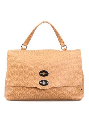 ZANELLATO: totes bags - Arché Postina beige medium bag