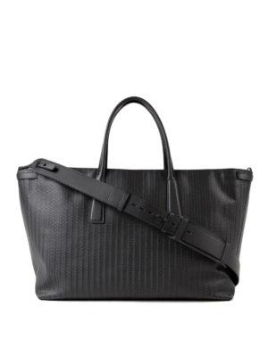 Zanellato: totes bags - Black Cachemire Blandine Duo L tote