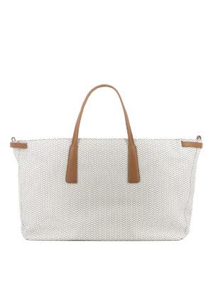 ZANELLATO: shopper - Shopper Duo L Blandine pergamena