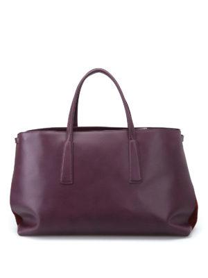 Zanellato: totes bags - Duo L-Original Silk leather tote