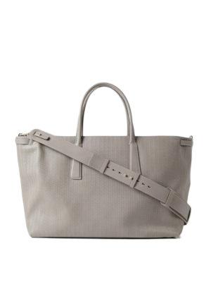 Zanellato: totes bags - Grey Cachemire Blandine Duo L tote