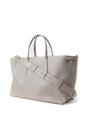 Zanellato: totes bags online - Grey Cachemire Blandine Duo L tote