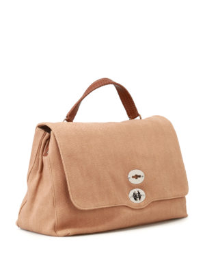 Zanellato: totes bags online - Postina L Cesto canvas bag