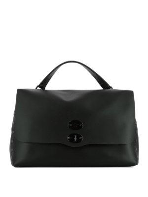 Zanellato: totes bags - Original Silk Postina L black bag