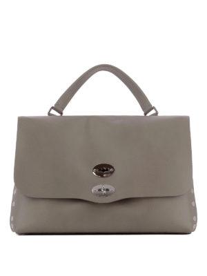 ZANELLATO: shopper - Borsa Postina M Original Silk color metallo