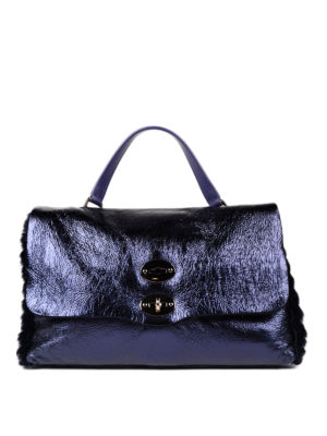 Zanellato: totes bags - Postina M Selvaggia leather tote