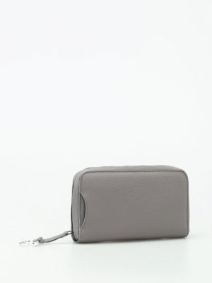 Zanellato: wallets & purses online - Cashmere Pura zip-around wallet