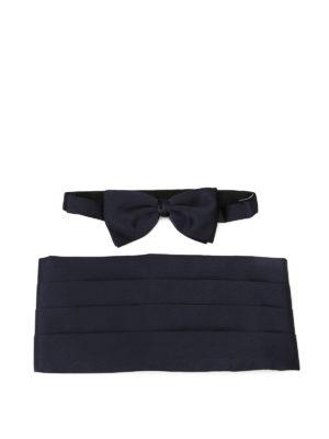 Zegna: ties & bow ties - Bow tie and cummerbund tuxedo kit