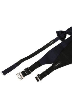 Zegna: ties & bow ties online - Bow tie and cummerbund tuxedo kit