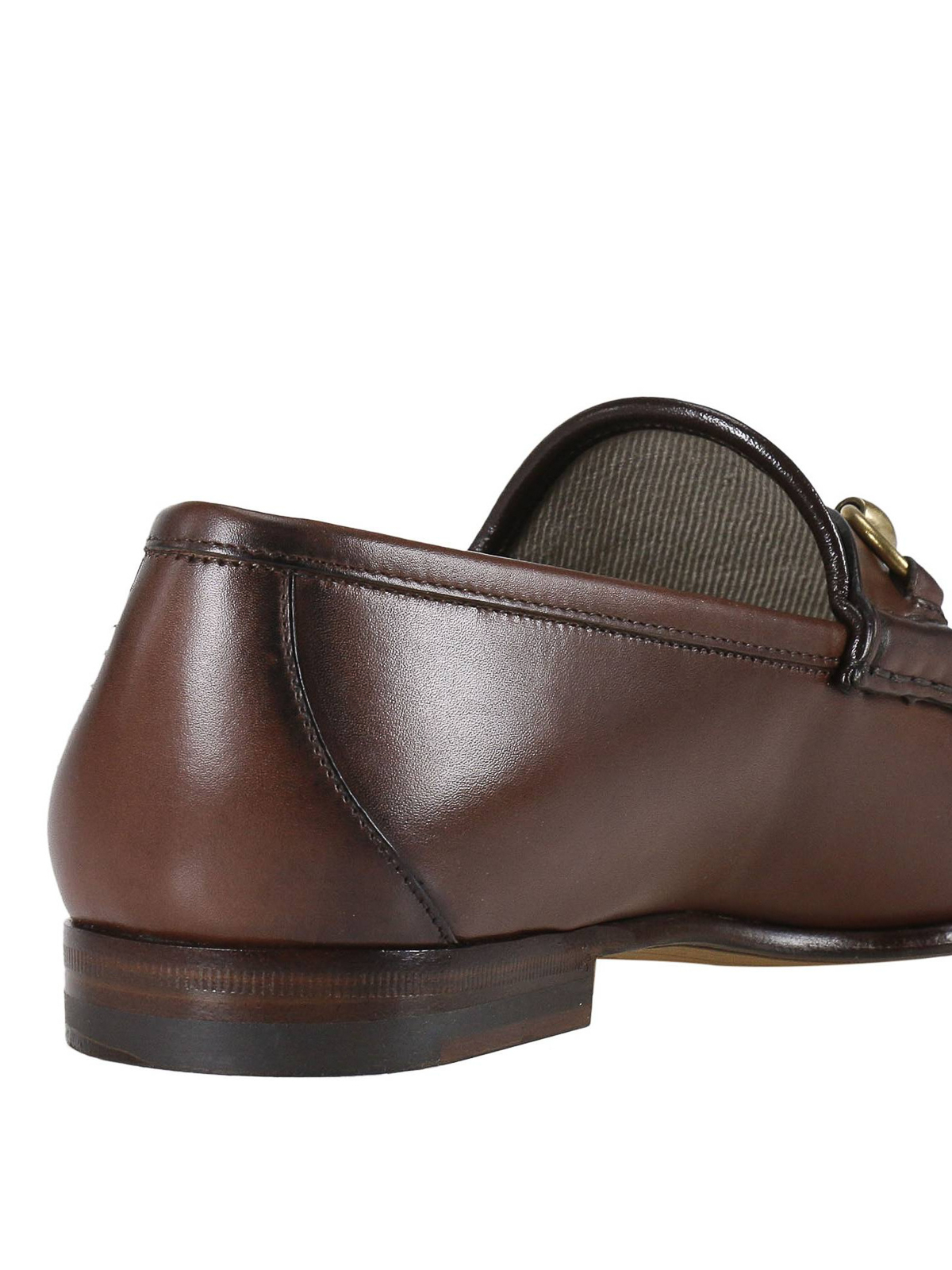 761bc68b1e1 Gucci - 1953 horsebit leather loafers - Loafers   Slippers ...