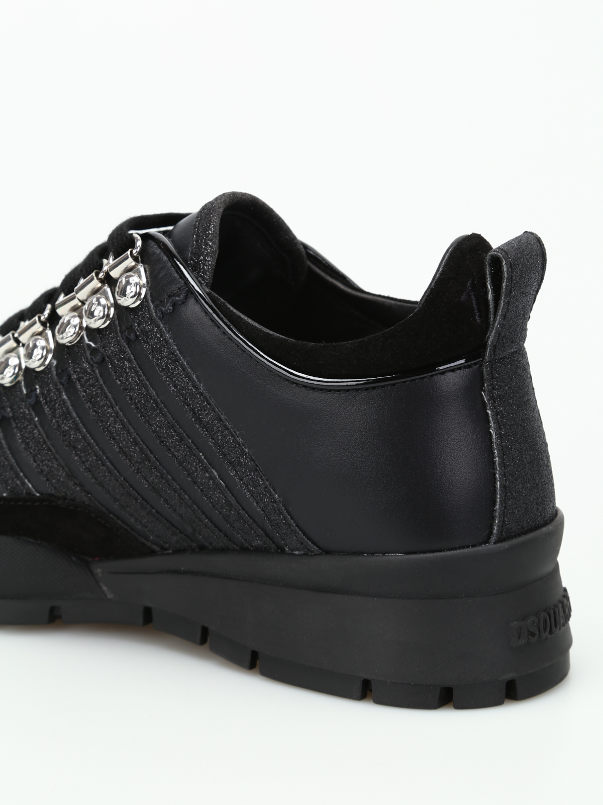 Dsquared2 - 251 black leather sneakers