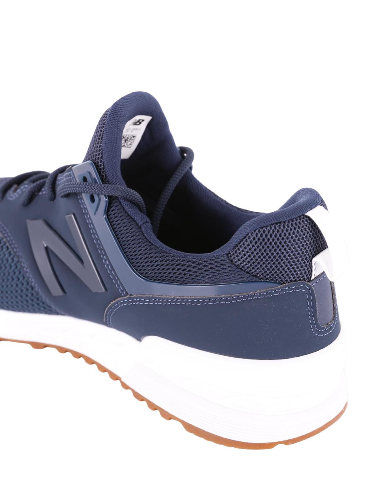 574 sport new balance blu