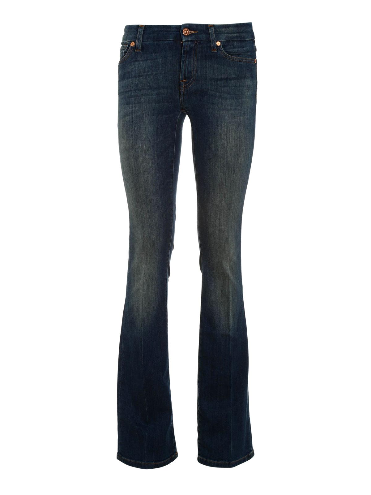 jeans a vita alta 7 for all mankind jeans bootcut ikrix. Black Bedroom Furniture Sets. Home Design Ideas