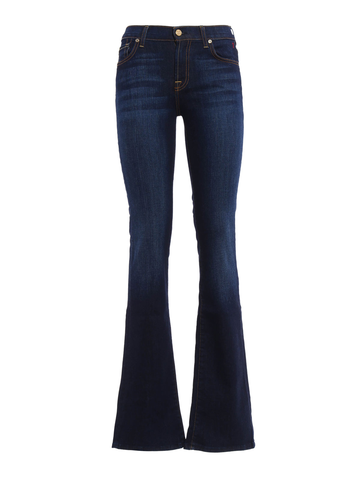 stretch bootcut jeans by 7 for all mankind bootcut jeans ikrix. Black Bedroom Furniture Sets. Home Design Ideas