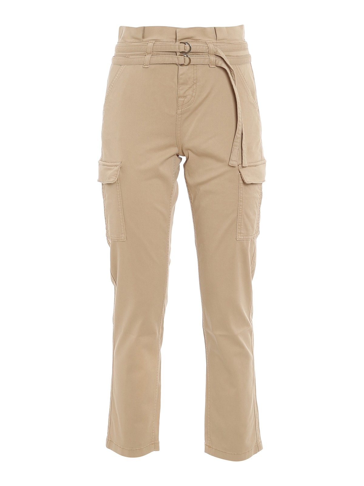 7 For All Mankind Cottons PAPERBAG CARGO TROUSERS