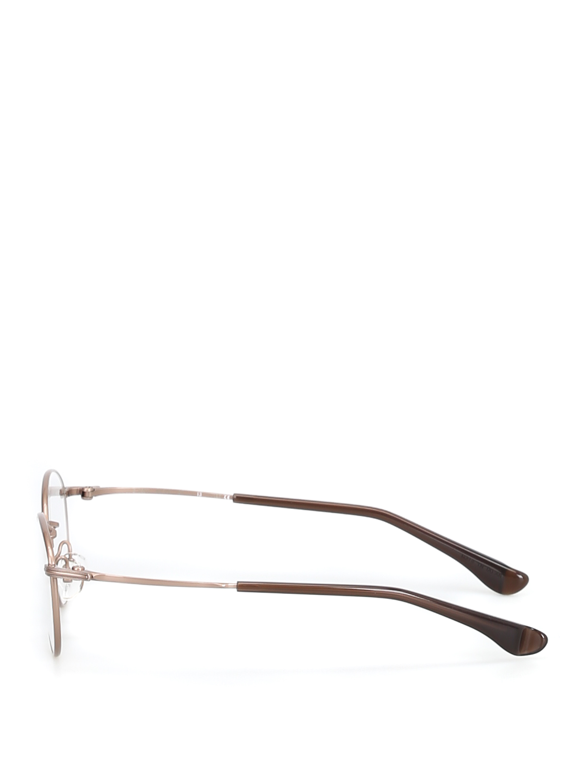 a6d66b83b7 999.9 FOUR NINES  Glasses online - Metal round slender frame eyeglasses
