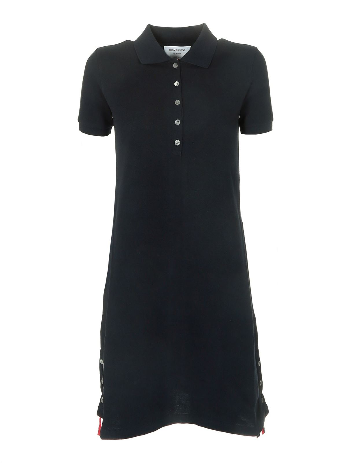 Thom Browne POLO DRESS IN BLUE