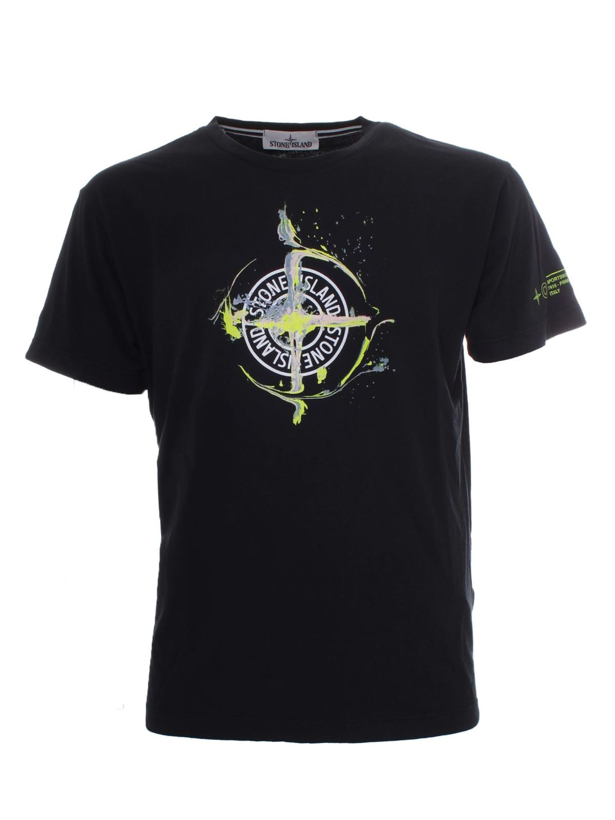 Stone Island MARBLE ONE T-SHIRT IN BLUE