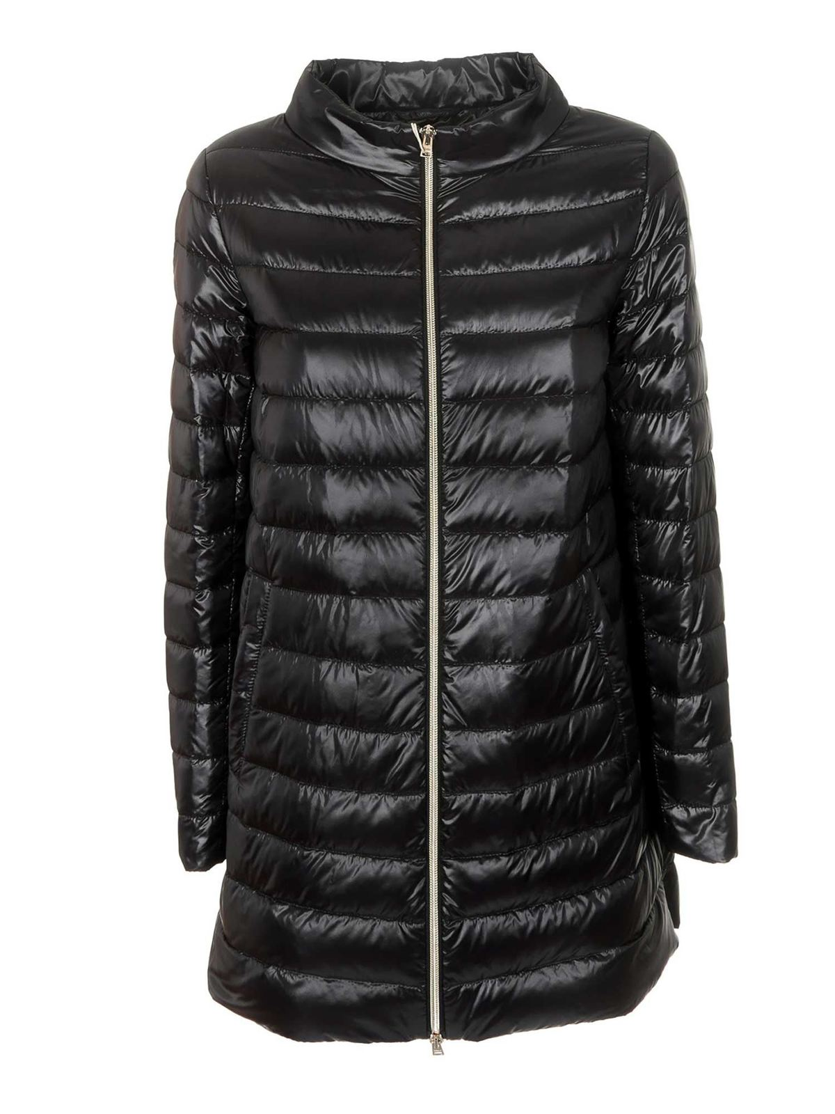 Herno A-SHAPED DOWN JACKET IN BLACK