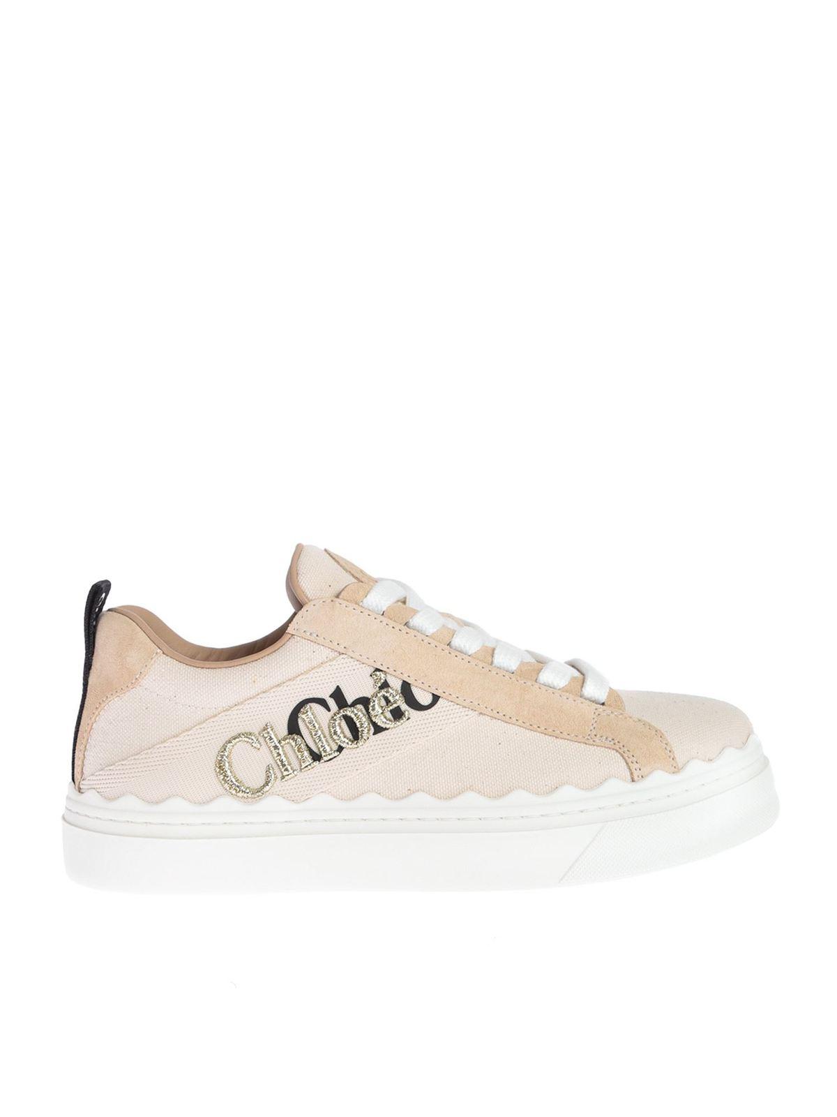 Chloé Sneakers LAUREN SNEAKER IN PINK