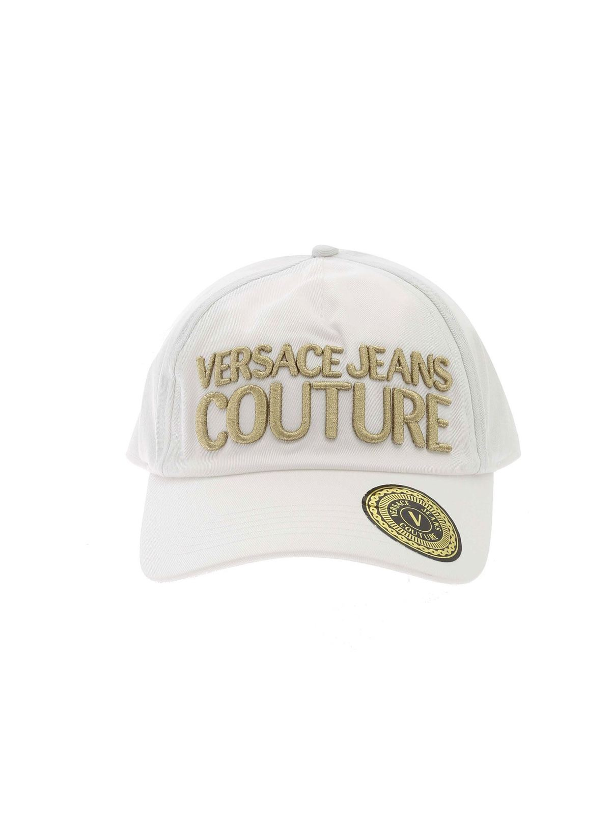 Versace Jeans Couture BASEBALL CAP IN WHITE