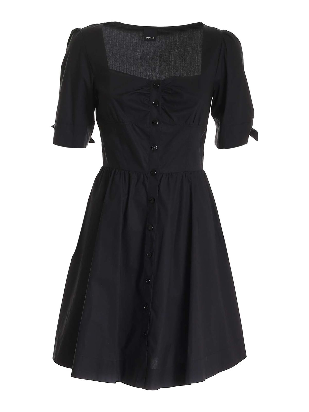 Pinko Cottons ASSOLTO DRESS IN BLACK