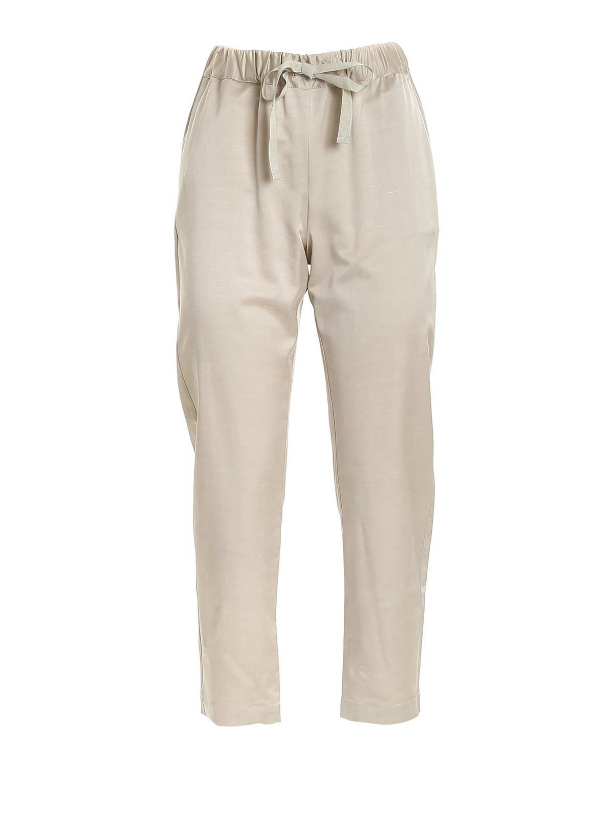 Semicouture BUDDY PANTS IN DOVE GREY
