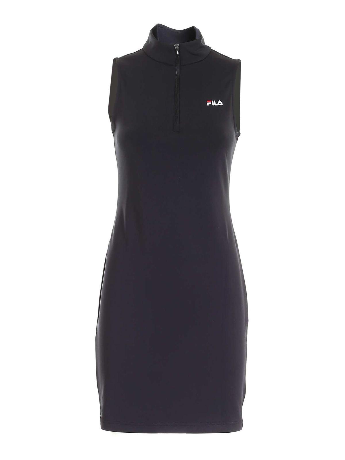 Fila CEARA SLEEVELESS DRESS IN BLACK