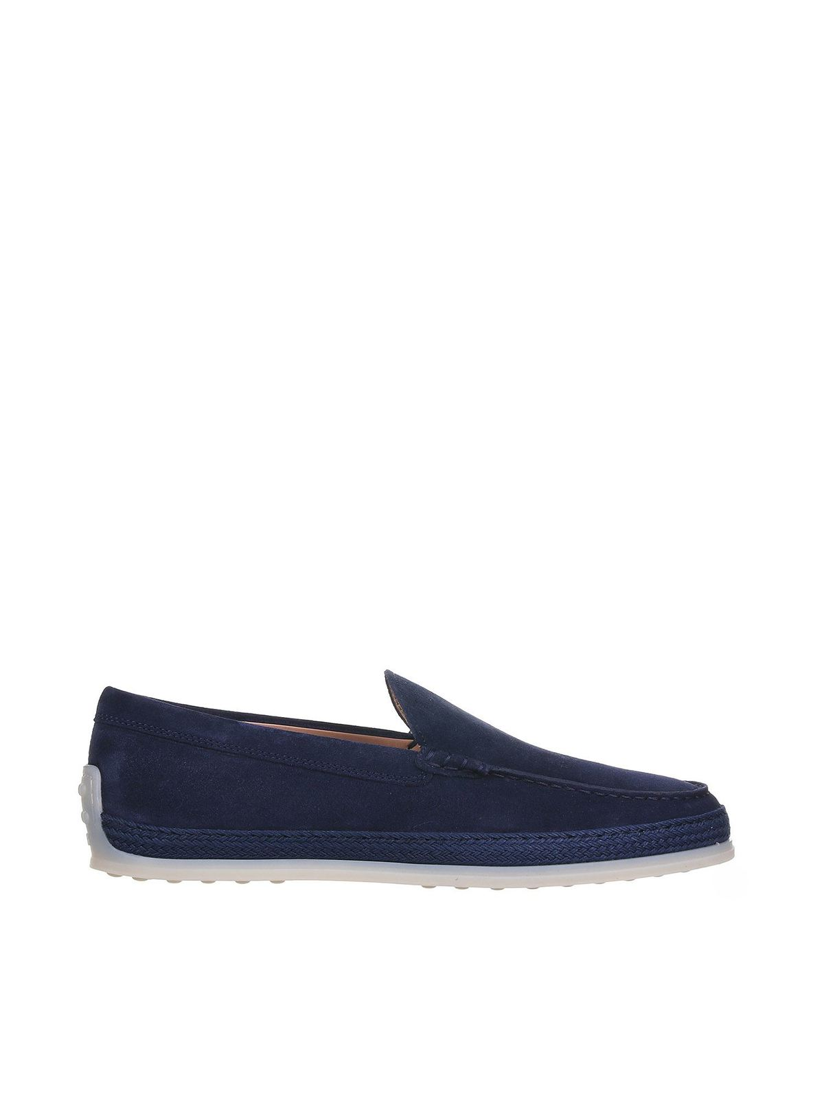 Tod's ROPE LOAFERS IN BLUE