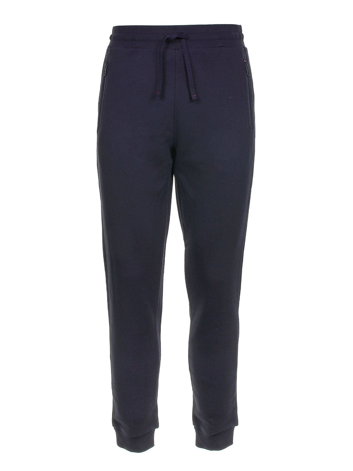 Fay Fleece Track Pants In Blue