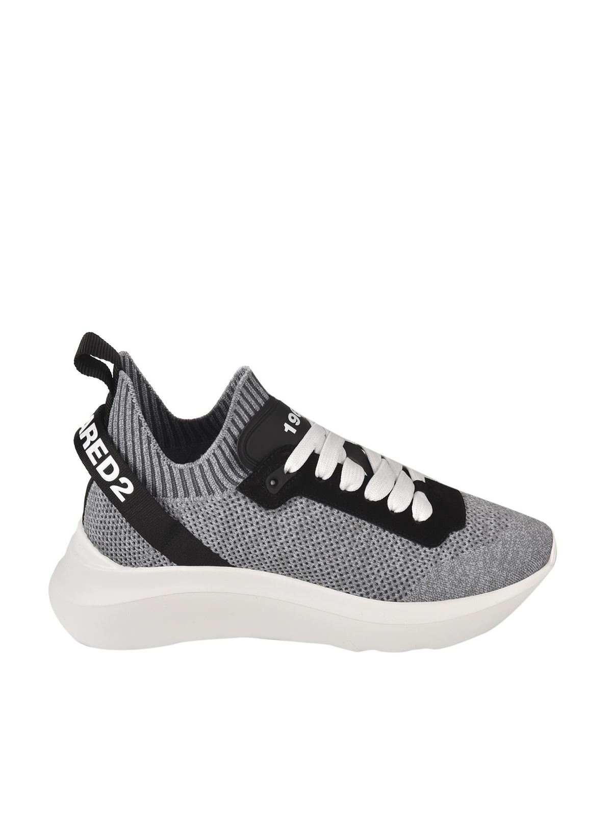 Dsquared2 Sports SPEEDSTER SNEAKERS IN GRAY