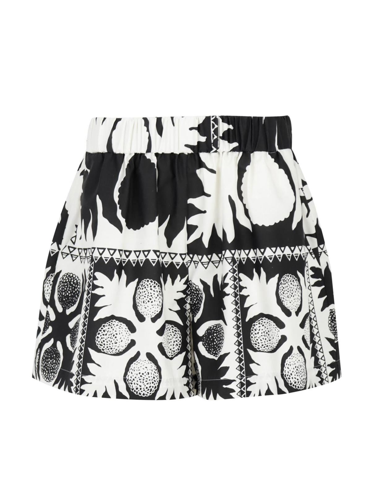 Red Valentino Cottons PRINTED SHORTS