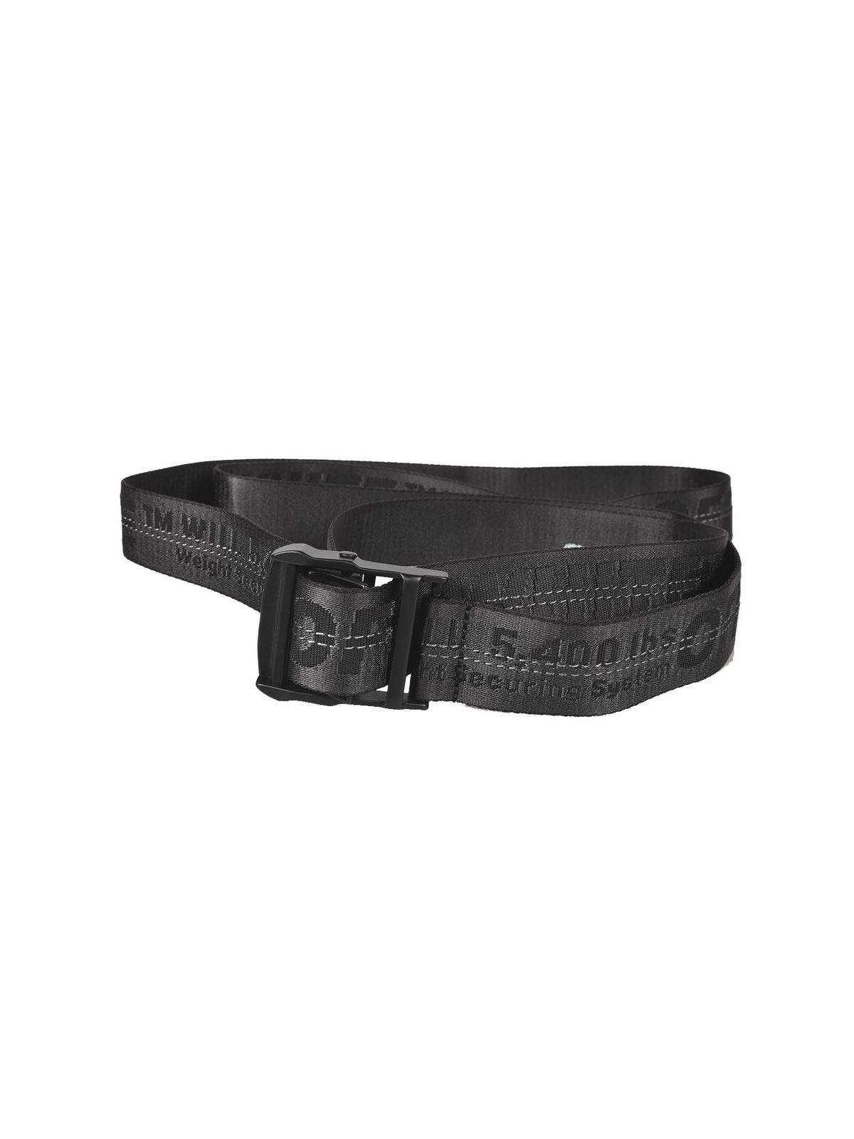 Off-White Belts CLASSIC INDUSTRIAL BELT IN BLACK