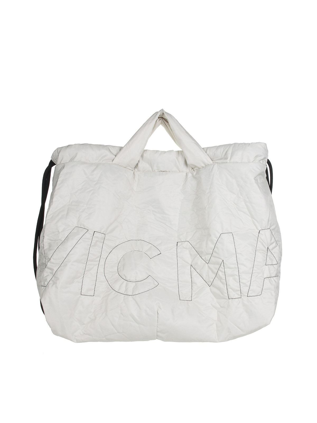 Vic Matie PENELOPE SHOPPING BAG IN WHITE