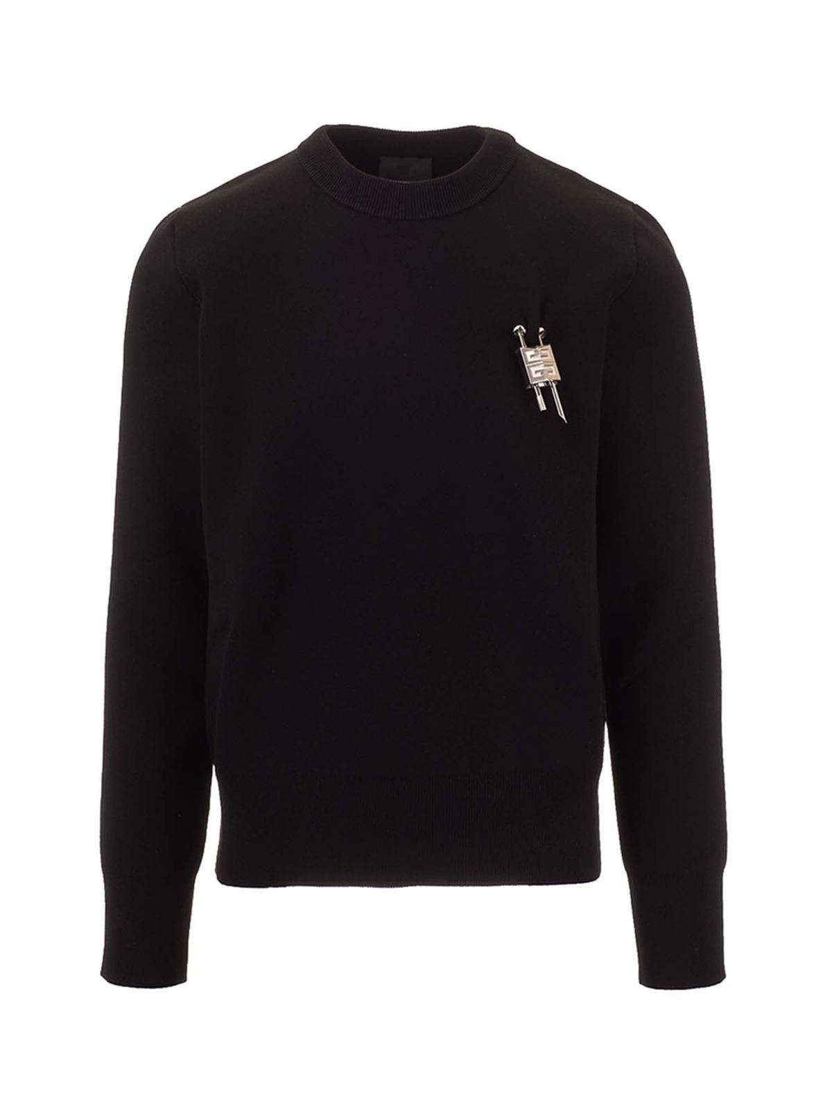 Givenchy PADLOCK SWEATSHIRT IN BLACK