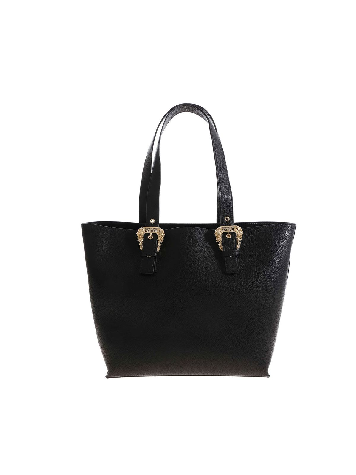 Versace GOLD COLORED BUCKLE SHOPPER