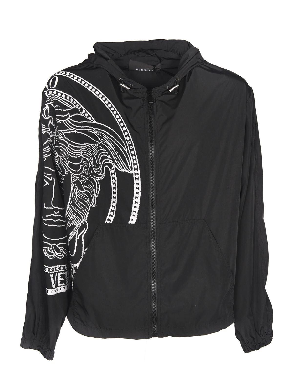 Versace Clothing MEDUSA JACKET IN BLACK